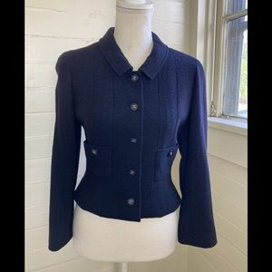 Chanel Vintage '96 Spring Crop Boucle Jacket